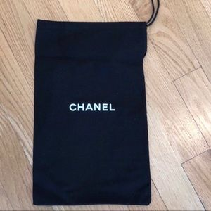 Chanel shoe dust bag